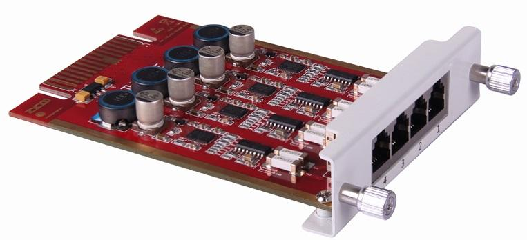 Zycoo 4FXS module with 4 FXS interface (U50/100